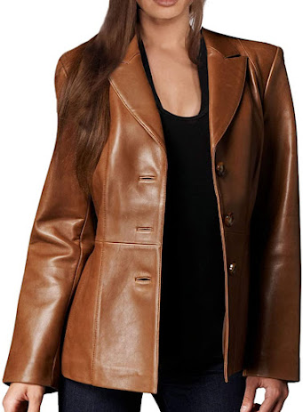 Best Leather Blazers Jackets For Women