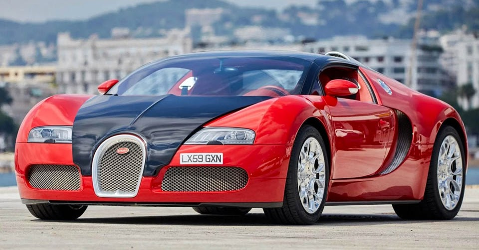 Deep Down This Red Bugatti Veyron Grand Sport Is Actually