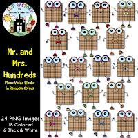 Mr and Mrs Hundred Clip Art