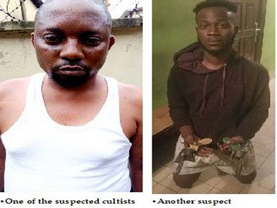 8 Notorious Cultists Nabbed Inside A Hotel In Lagos