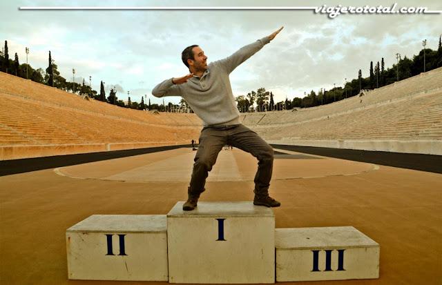 Estadio olímpico Panathinaikó - Atenas
