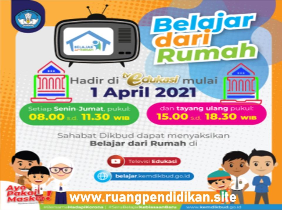 Program Belajar Dari Ruamh (BDR) TV Edukasi