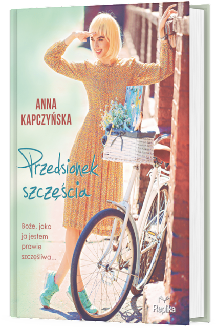 """Zapowiedź patronacka """"Przedsionek szczęścia"""" Anna Kapczyńska"""
