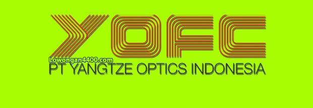 Lowongan Kerja PT. Yangtze Optics Indonesia Kawasan Suryacipta Karawang Juni 2020