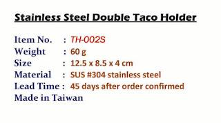 double taco holder, taco holder