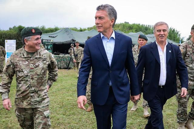 Macri presentó el nuevo equipamiento del Ejército
