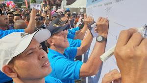 Kajari Eko Bambang Marsudi Ikuti Jalan Sehat Thalasaemia