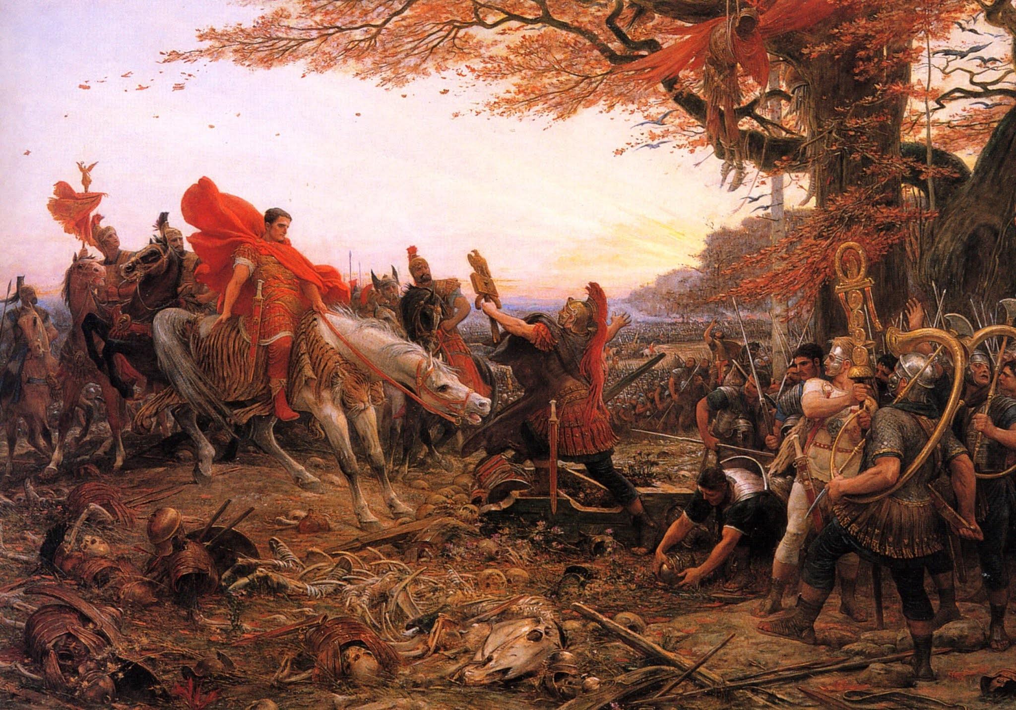 Las campañas de Germanicus en el siglo I