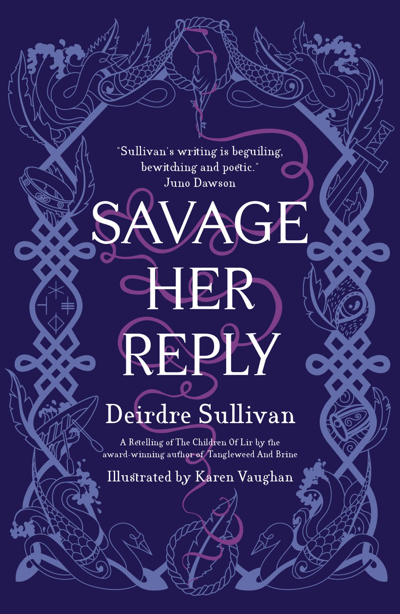 Savage Her Reply by Deirdre Sullivan