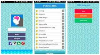 aplikasi Psikotes android