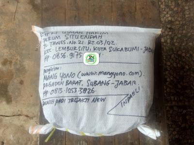 Benih Pesanan RIFKI USMAN HAKIM Sukabumi, Jabar. (Sesudah packing)