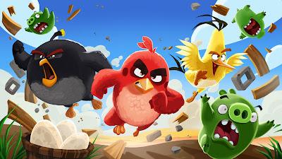 تجميعة لإصدارات لعبة Angry Birds جميعها مهكّرة آخر إصدار
