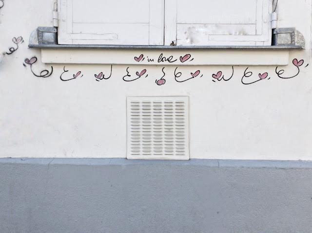 Les cœurs amoureux de In Love Street Art