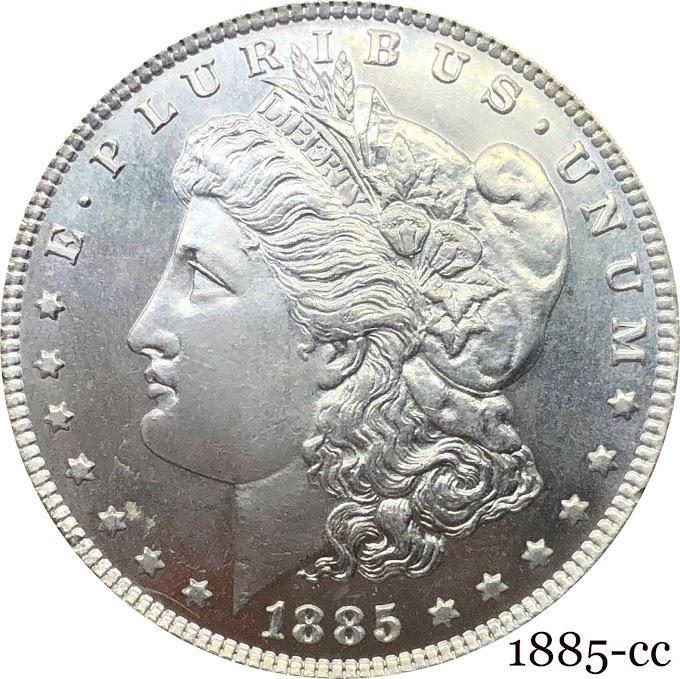 New 1885-O Morgan Silver Dollar (1 COIN)
