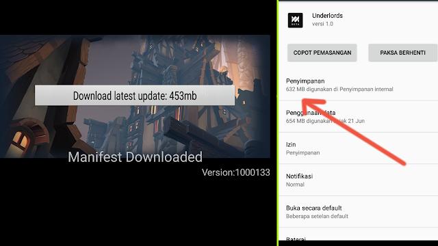 Mantap Jiwa! Berapa Total Size Game Dota Underlords Di Android