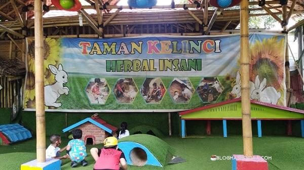 Taman Kelinci di Taman Herbal Insani, Depok