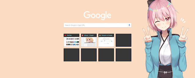 Anime Sakura Saber Kawaii Theme FOR Chrome