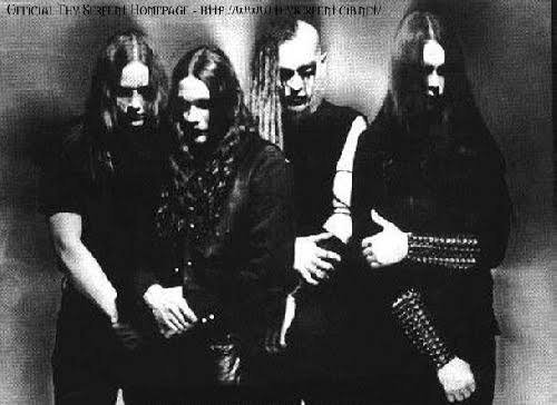 Fotografia dos integrantes da banda Thy Serpent