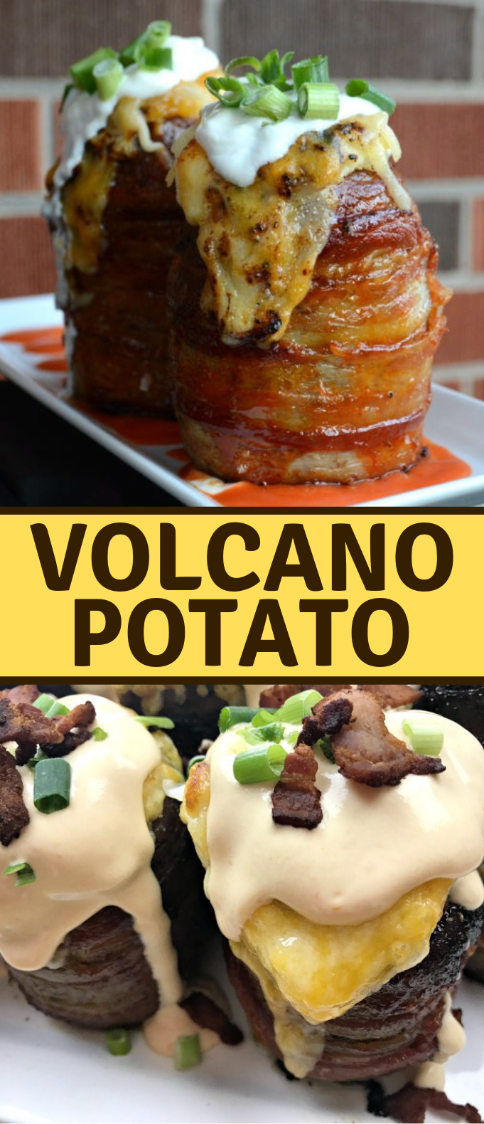 The Ultimate Volcano Potato #dinner #potatolovers