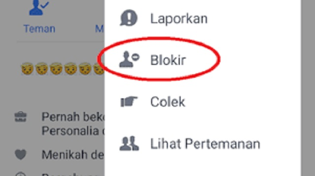 Cara Memblokir Akun FB Sendiri