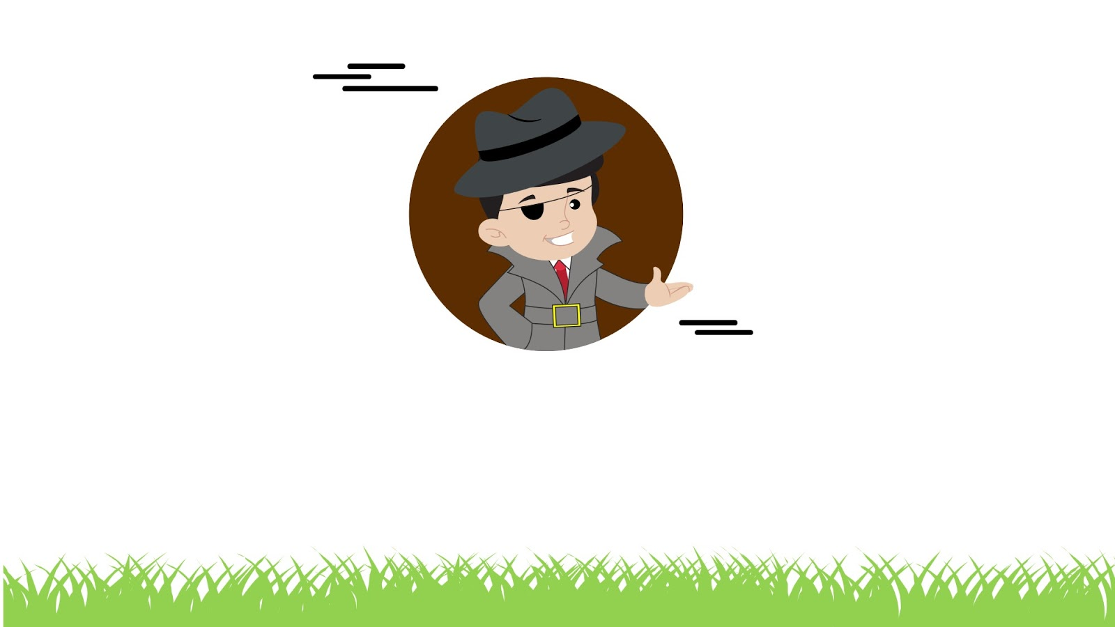 Free Cartoon Detective Background