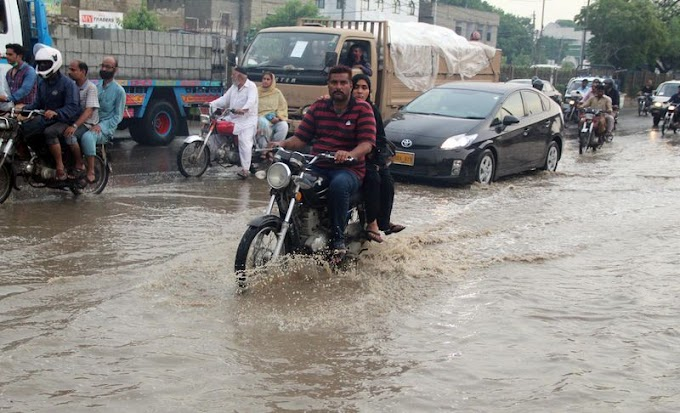 Monsoon's 6th Spell for Sindh including Karachi