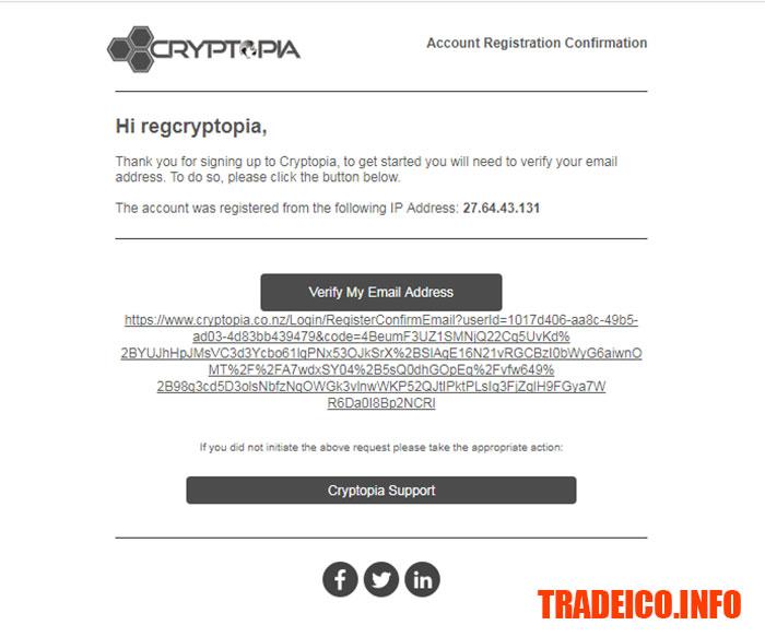 Cryptopia là gì? hướng dẫn tạo tài khoản trên sàn Cryptopia từ A đến Z , hướng dẫn đăng ký tài khoản trên sàn Cryptopia, hướng dẫn cryptopia, cách mua bán trên sàn cryptopia, cách giao dịch trên sàn cryptopia.