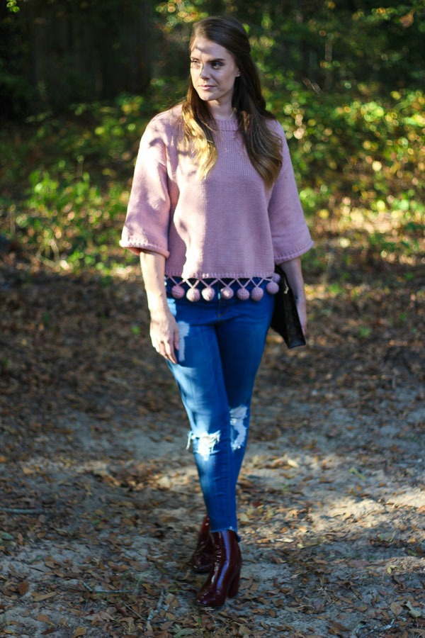 Blush Sweaters For Fall