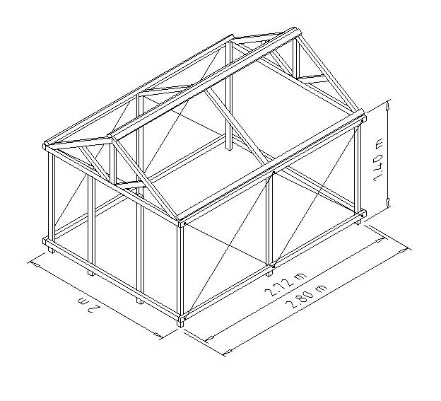 Tecnolog a 2 e s o invernadero for Vivero estructura