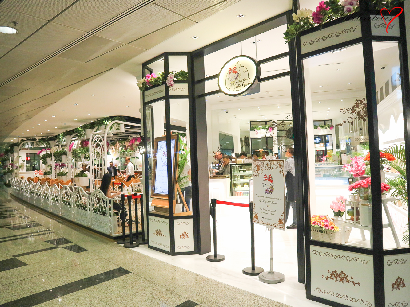 Msbabelovebebes celestia faith chong hello kitty orchid garden opens at changi airport - Hello this is my new picture garden interior ...