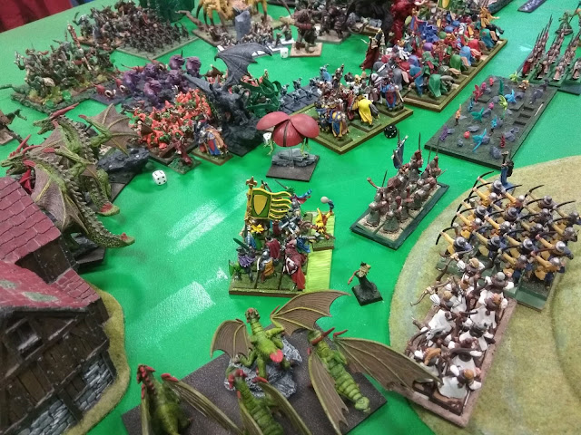 Oldhammer.es >> Megabatalla Kings of War - Bien VS Mal - KOW 2018