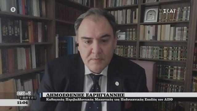 Σαρηγιάννης:  Κοντά στο Πάσχα η κορύφωση του τρίτου κύματος της πανδημίας