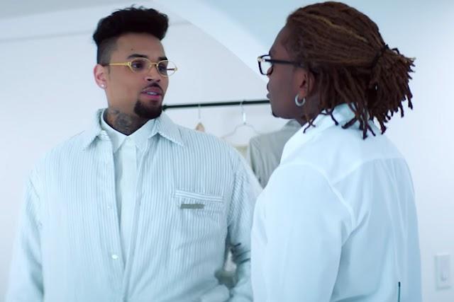 """Video: Chris Brown Feat. Gunna """"Heat"""""""