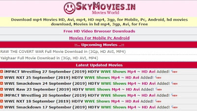 Features that make Skymovies one of the most popular
