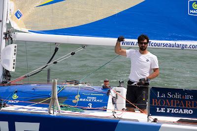 Vainqueur de La Solitaire Bompard, Yoann Richomme vise le titre de Champion de France