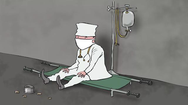 здравоохранение уничтожили, а оказание регулярной медпомощи сократили