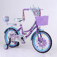 sepeda mini anak trex lolipop mermicorn kids city bike