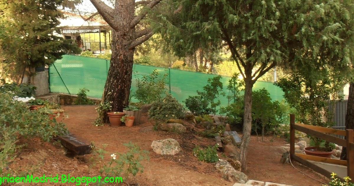 El jard n de la alegr a c mo instalar una valla met lica for El jardin de la alegria cordoba