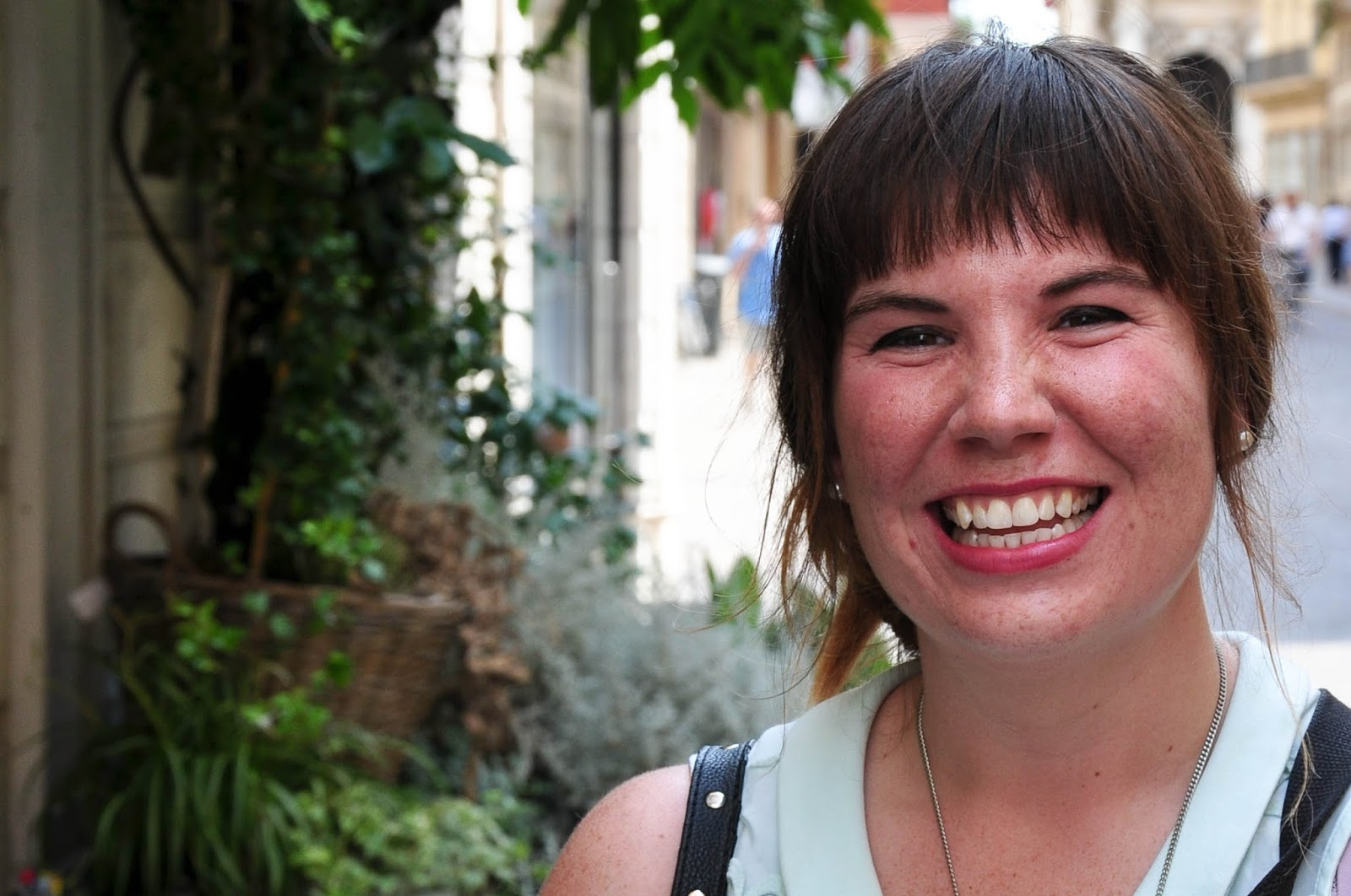 Katie Currid, US photojournalist and blogger, Corso Palladio, Vicenza, Italy