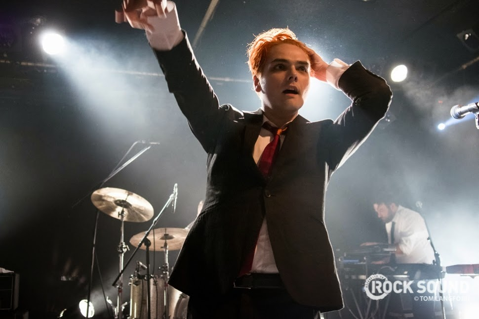 PORTSMOUTH POINT: Review: Gerard Way & The Hormones ...