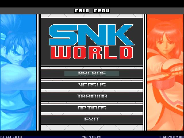 SnkWorld 2.0 001