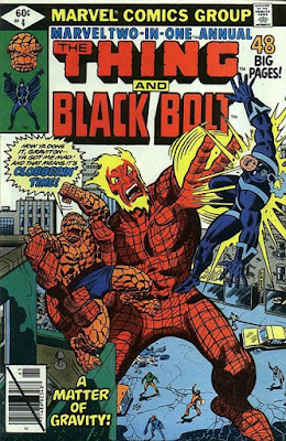 Marvel Two-In-One Annual #4, Black Bolt and the Thing