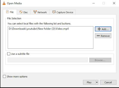 Cara Memutar Video Audio Bersamaan dengan File Terpisah