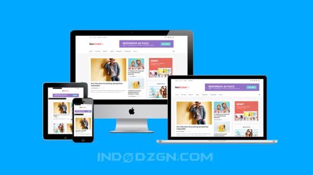 seo rocket premium free blogger template, seo friendly blogger template, download template blogger premium free
