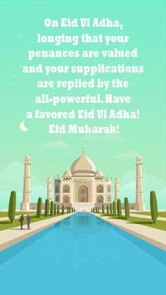 Eid Ul Azha Wishes Status