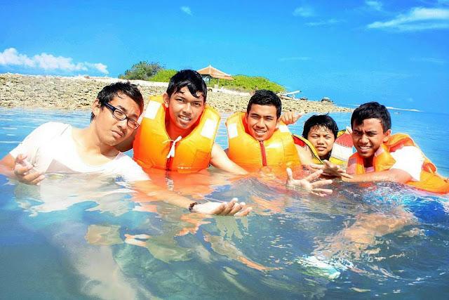 Wahana snorkeling pulau biawak Indramayu