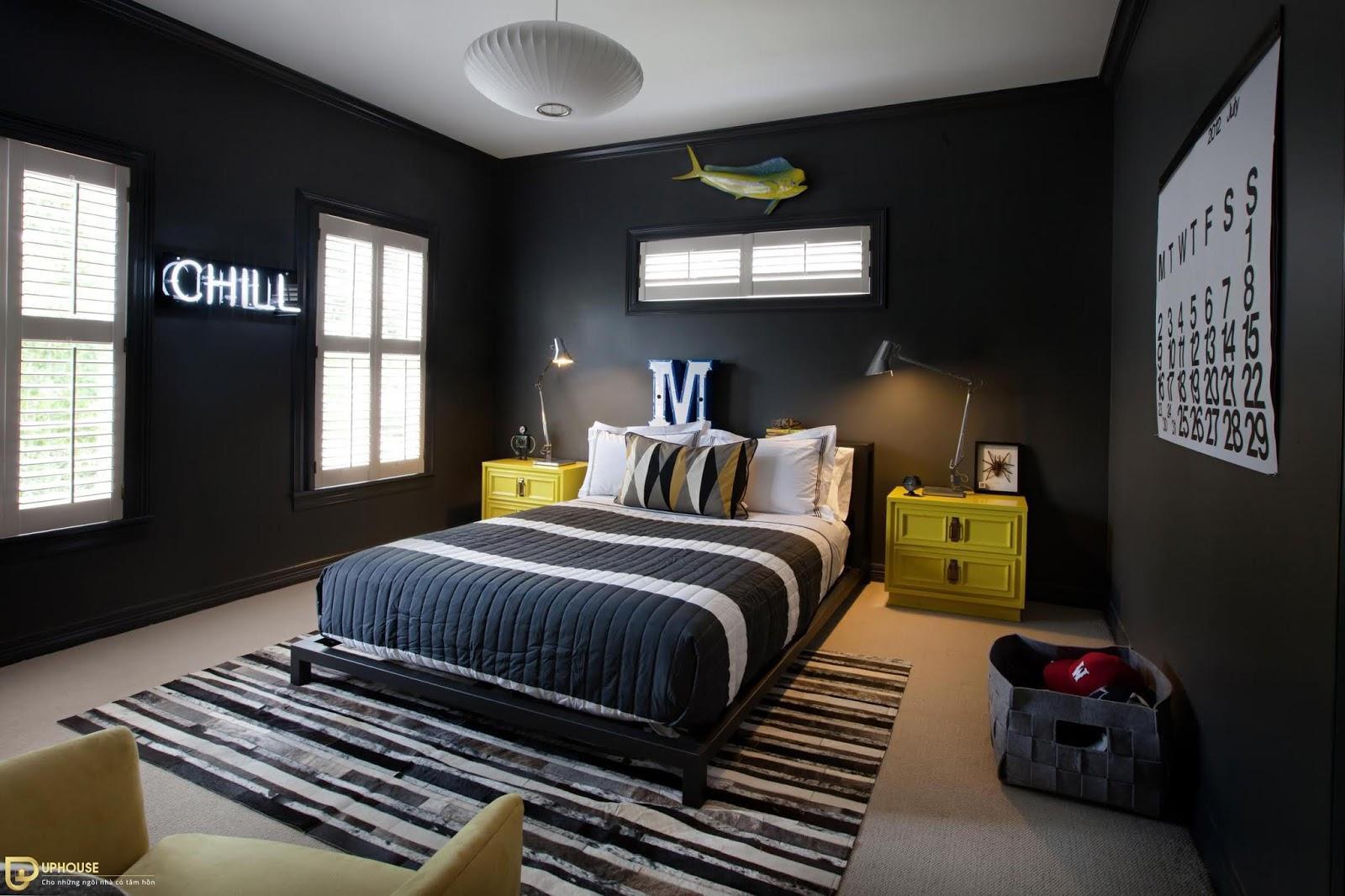 Màu sơn phòng ngủ mệnh Hỏa 14