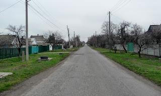 Новопавлівка. Лисівська сільська рада. Покровський р-н. Вул. Яблунева