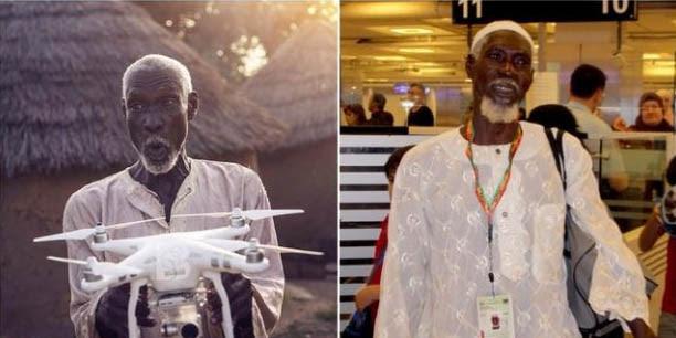 Kisah Inspiratif: Gara-Gara Impikan Drone, Pria Miskin di Ghana Akhirnya Bisa Pergi Haji
