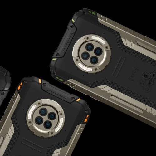 S96 Pro: the first infrared night vision smartphone